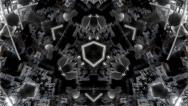 Stock Video Footage of VJ KALEIDOSCOPE FRACTAL fullHD 2