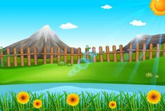 Stock Illustration of A beautiful environment
