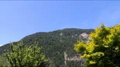 Mount Harder Kulm, Interlaken -  1322 m above sea level. Switzerland Stock Footage