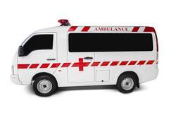Ambulance on white background Kuvituskuvat