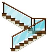 Stock Illustration of A staircase