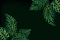 Stock Illustration of Eight leaves
