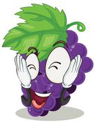 Stock Illustration of grapes