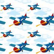 Stock Illustration of aeroplanes