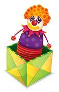 Joker in a box Piirros