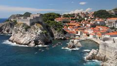 Old City of Dubrovnik, Croatia Stock Footage