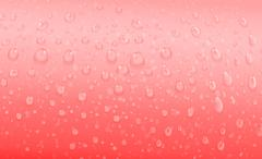 Stock Illustration of red water drops