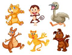 Animal series Stock Illustration