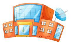 building - stock illustration