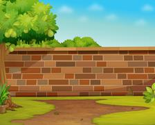 Wall Stock Illustration