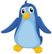 Comical penguin Stock Illustration