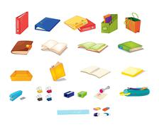 Stock Illustration of Stationary