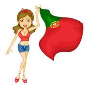 Stock Illustration of National pride