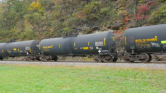 4K Norfolk Southern Freight Train at Horseshoe Curve 8 Stock Footage