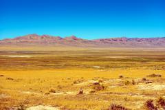 eastern nevada rural landscape. - stock photo
