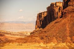 Stock Photo of reddish rocks utah landscape. utah wilderness, usa.