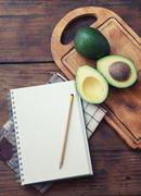 Avocado recipe Stock Photos