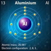 Aluminium Stock Illustration