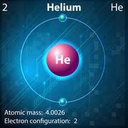 Helium - stock illustration