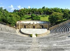 Amphitheater, altos de chavon, la romana, dominican republic Stock Photos