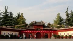 White Horse temple in Luoyang Stock Footage