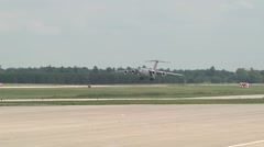 Aircraft operations for PATRIOT 2014 Exercise Stock Footage