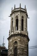 Spanish city of valencia, mediterranean architecture Stock Photos