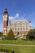 Town hall of calais, france Stock Photos