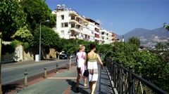 Stock Video Footage of 4K Alanya Turkey Turkish Tourist Paradise 3