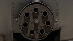 A-10 Thunderbolt II aircraft Stock Footage