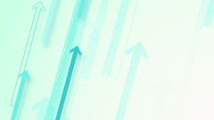 Blue arrow strips loopable background Stock Footage