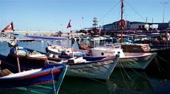 Stock Video Footage of 4K Alanya Turkey Turkish Tourist Paradise 26 port