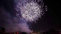 Fireworks Timelapse Riyadh Stock Footage