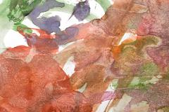 Abstract background of watercolor Stock Photos