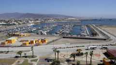 Port of Ensenada Timelapse Stock Footage