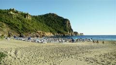 Stock Video Footage of 4K Alanya Turkey Turkish Tourist Paradise 35 beach