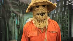 Hallowen scarecrow Stock Footage
