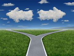 decision inspiration - stock illustration