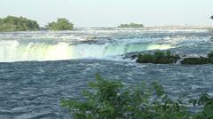 Horseshoe Falls Niagara Falls Stock Footage