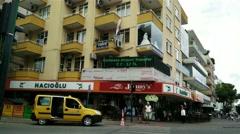 Stock Video Footage of 4K Alanya Turkey Turkish Tourist Paradise 67 downtown