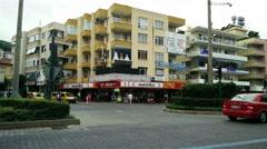 Stock Video Footage of 4K Alanya Turkey Turkish Tourist Paradise 68 downtown