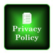Stock Illustration of privacy policy icon