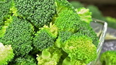 Broccoli (seamless loopable) Stock Footage