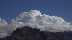 4K Bubbling Cumulus Monsoon Clouds Time Lapse Stock Footage