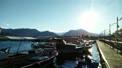 Stock Video Footage of 4K Alanya Turkey Turkish Tourist Paradise 89 port