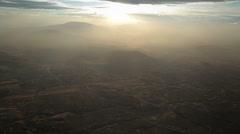 Arusha Tanzania, Foothills of Mt. Meru Ariel Stock Footage