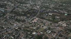 Arusha, Tanzania Ariel Stock Footage