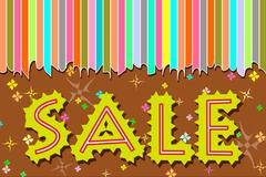 Sale design template Stock Illustration