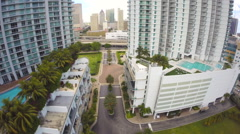 Aerial Brickell City Center 1080 2 Stock Footage
