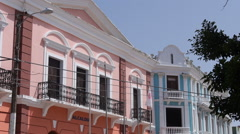 Puerto Rico - City Hall - Caribbean buildings Stock Footage